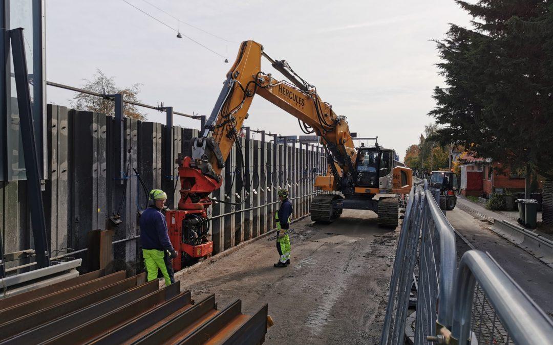 Hercules Fundering afleverer renoveringsopgave på Lyngbyvejen før tid